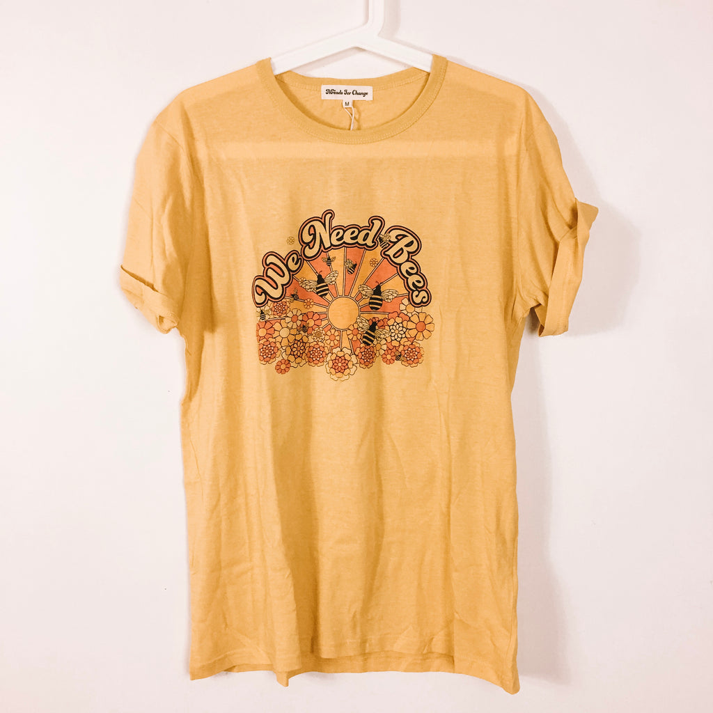 SAVES THE BEES TEE - CHARITY TEE FOR THE BEES