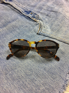 True Vintage Sunglasses - Haute Couture Tortoiseshell Sunglasses