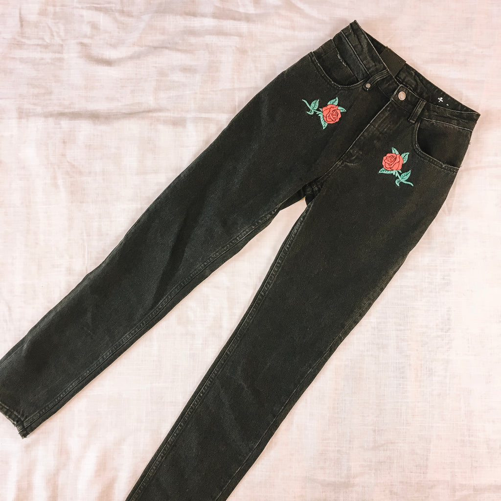 THRILLS - THELMA ROSE HIGH WAISTED JEANS