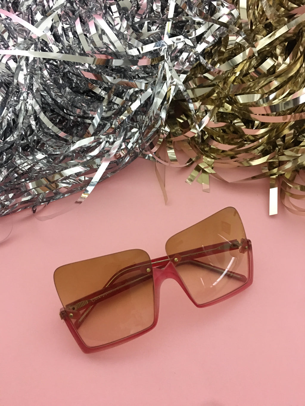 True Vintage Sunglasses - 1970s Cher Tinted Sunglasses