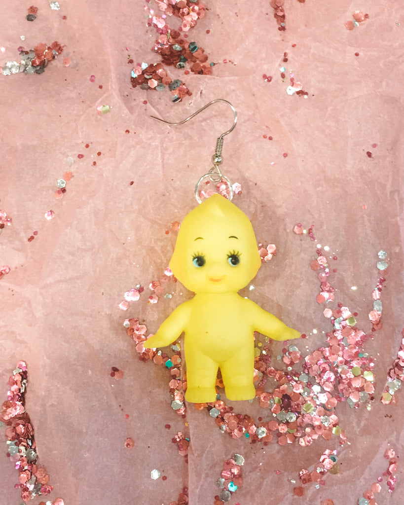 Just BeKuz - Kewpie Earring
