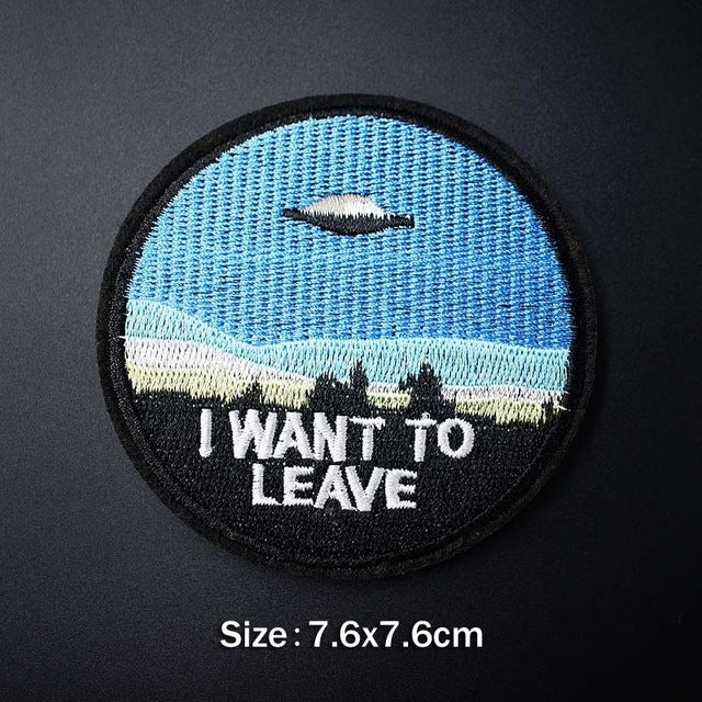 UFO Patches