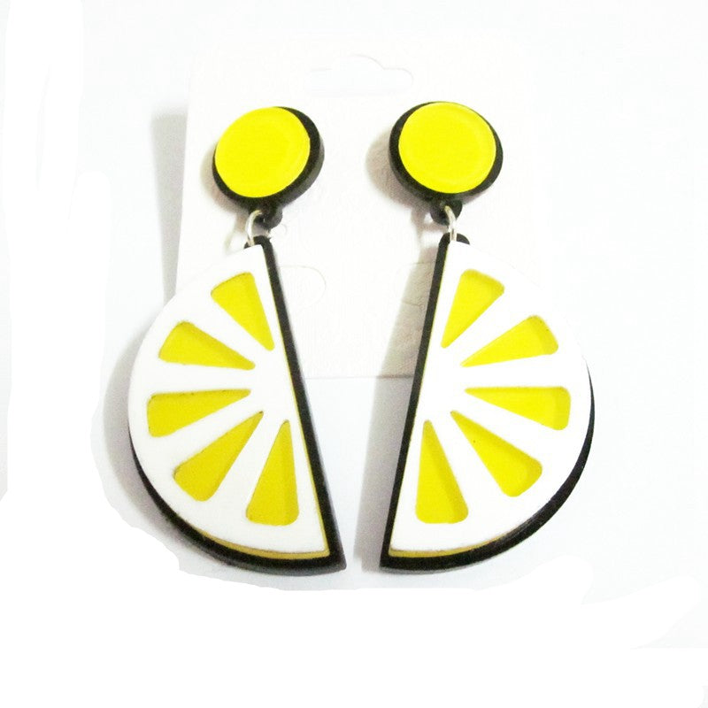 G&T Lemon Slice Earrings