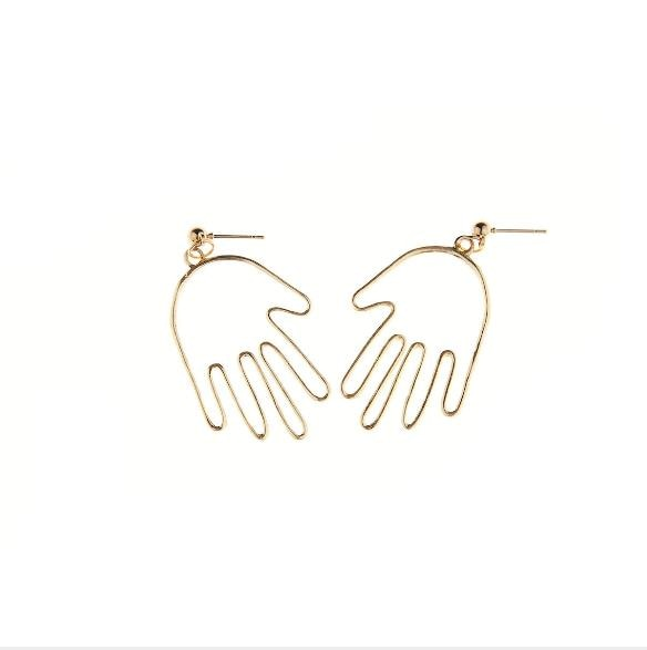 ABSTRACT - Max Hand Earrings