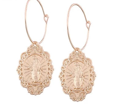 Mary Talisman Earrings