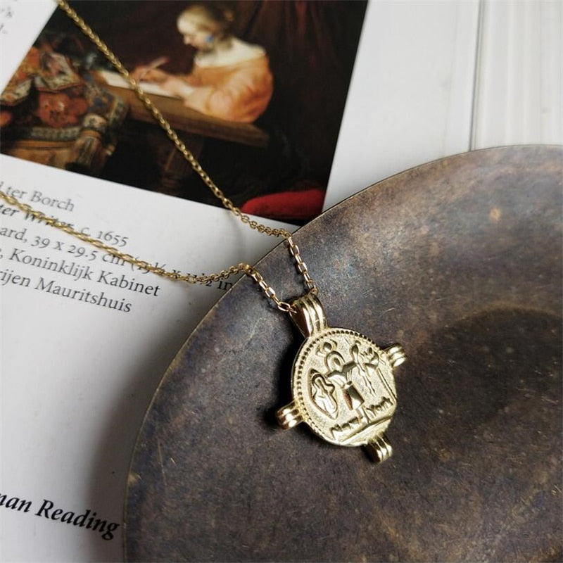 Balbina Coin Necklace