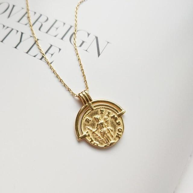 Alba Layered Coin Necklace
