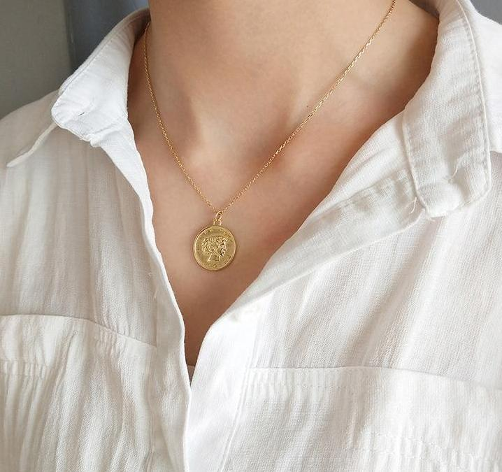 Vada Coin Necklace