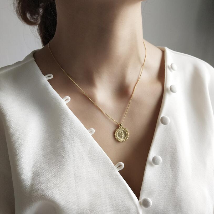Roza Coin Necklace