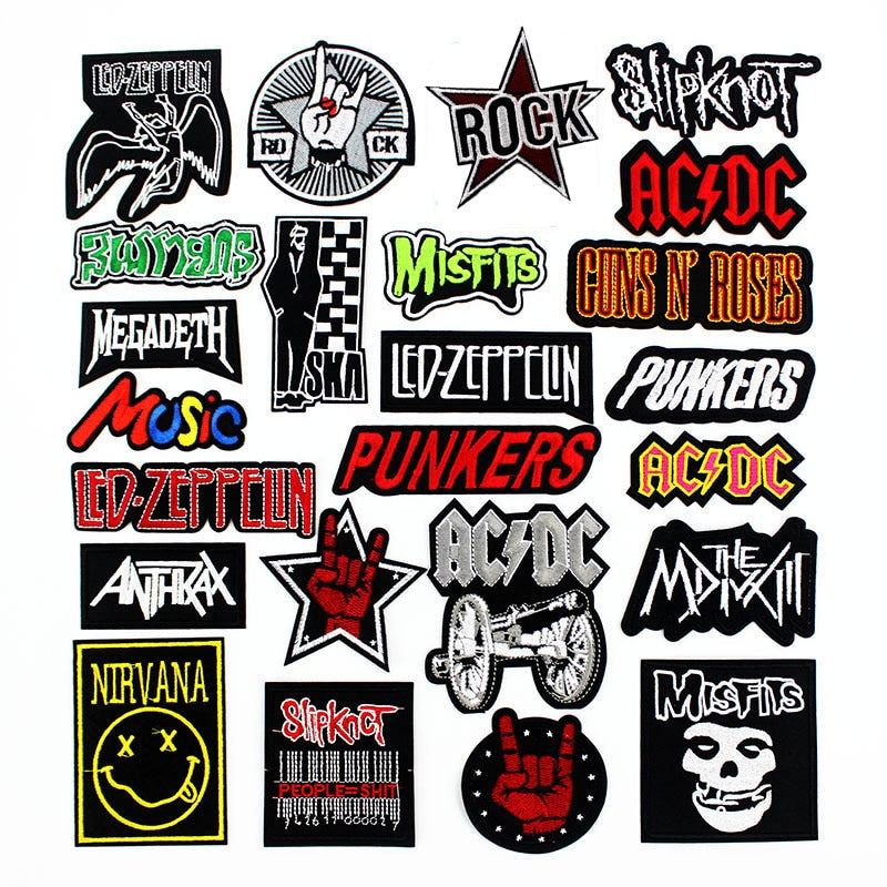 Legends of Rock Patch