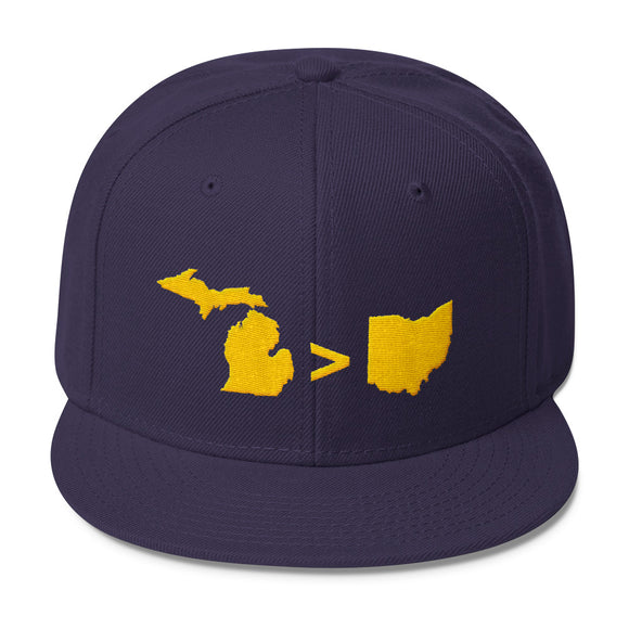 Michigan > Ohio  Snapback