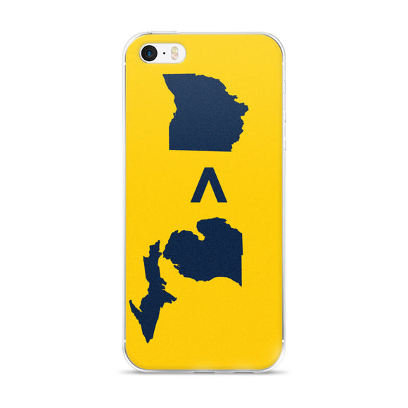 Michigan > Ohio iPhone 5/5s/Se, 6/6s, 6/6s Plus Case