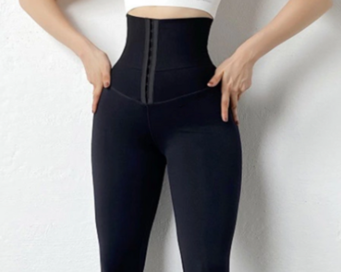 High Waisted Firm Compression Leggings