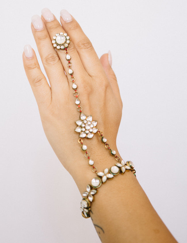 Haath Phool - Jeweled Hand Piece