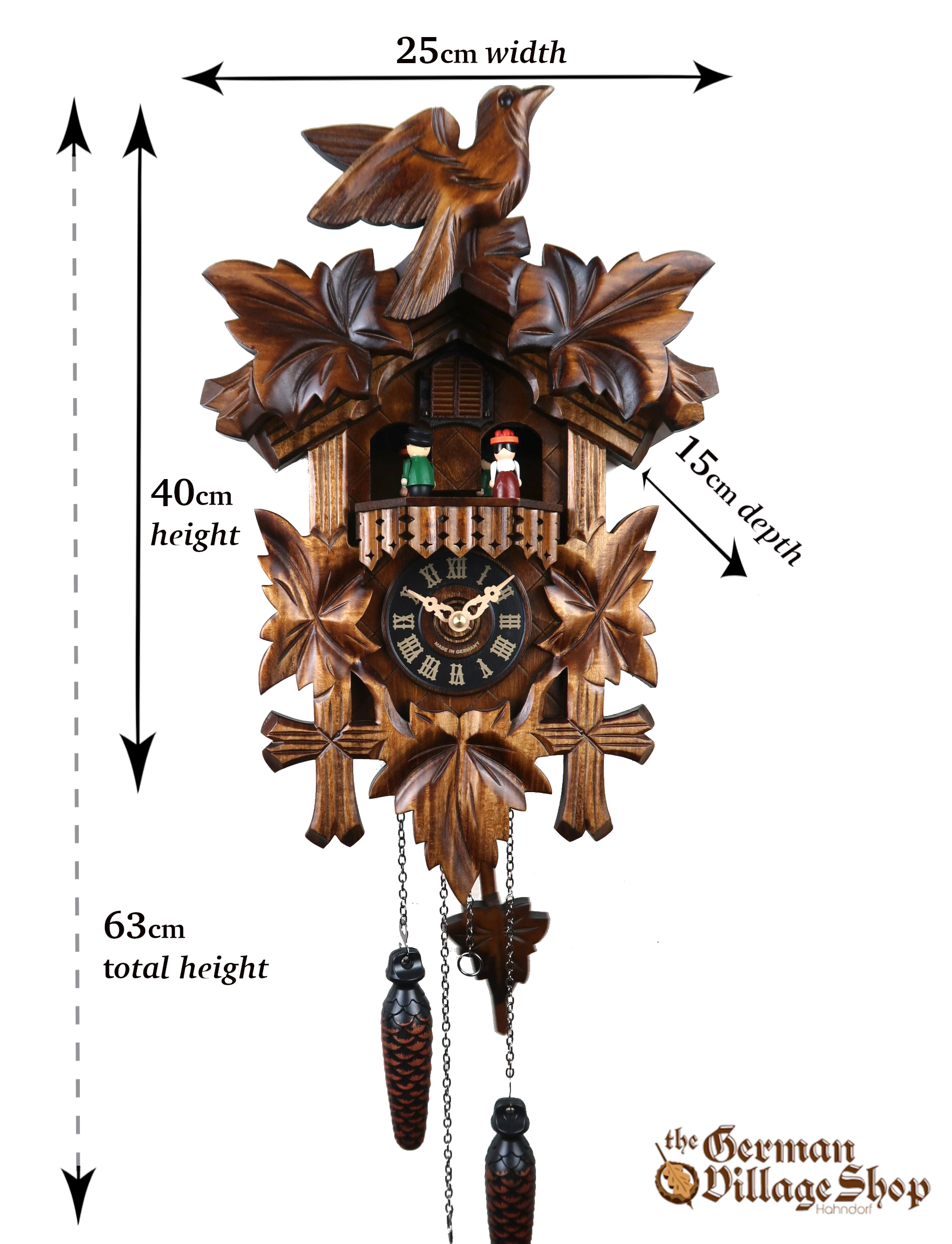 German Cuckoo Clock imported and sold in Australia