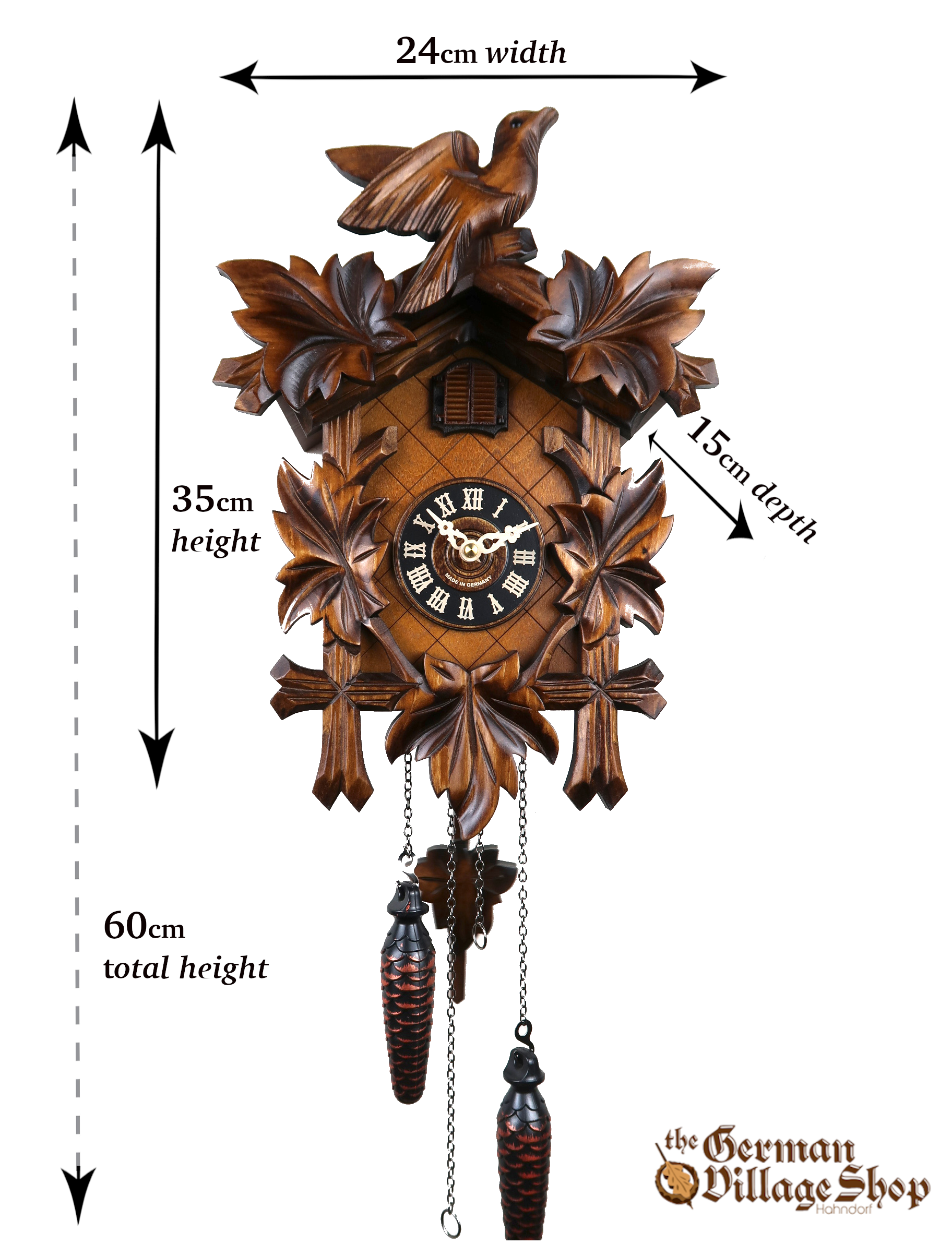 German Cuckoo Clock imported and for sale in Australia