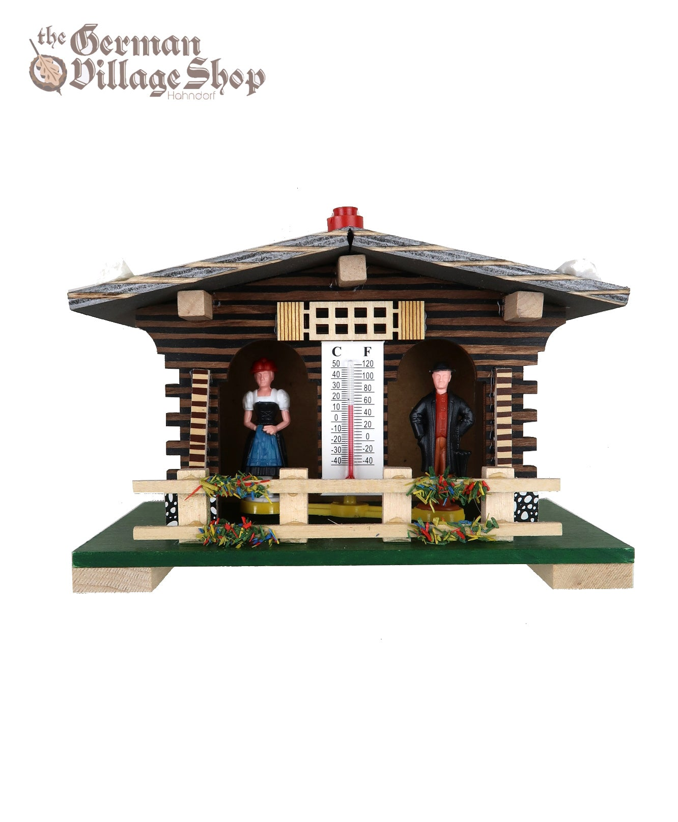 German made weather house