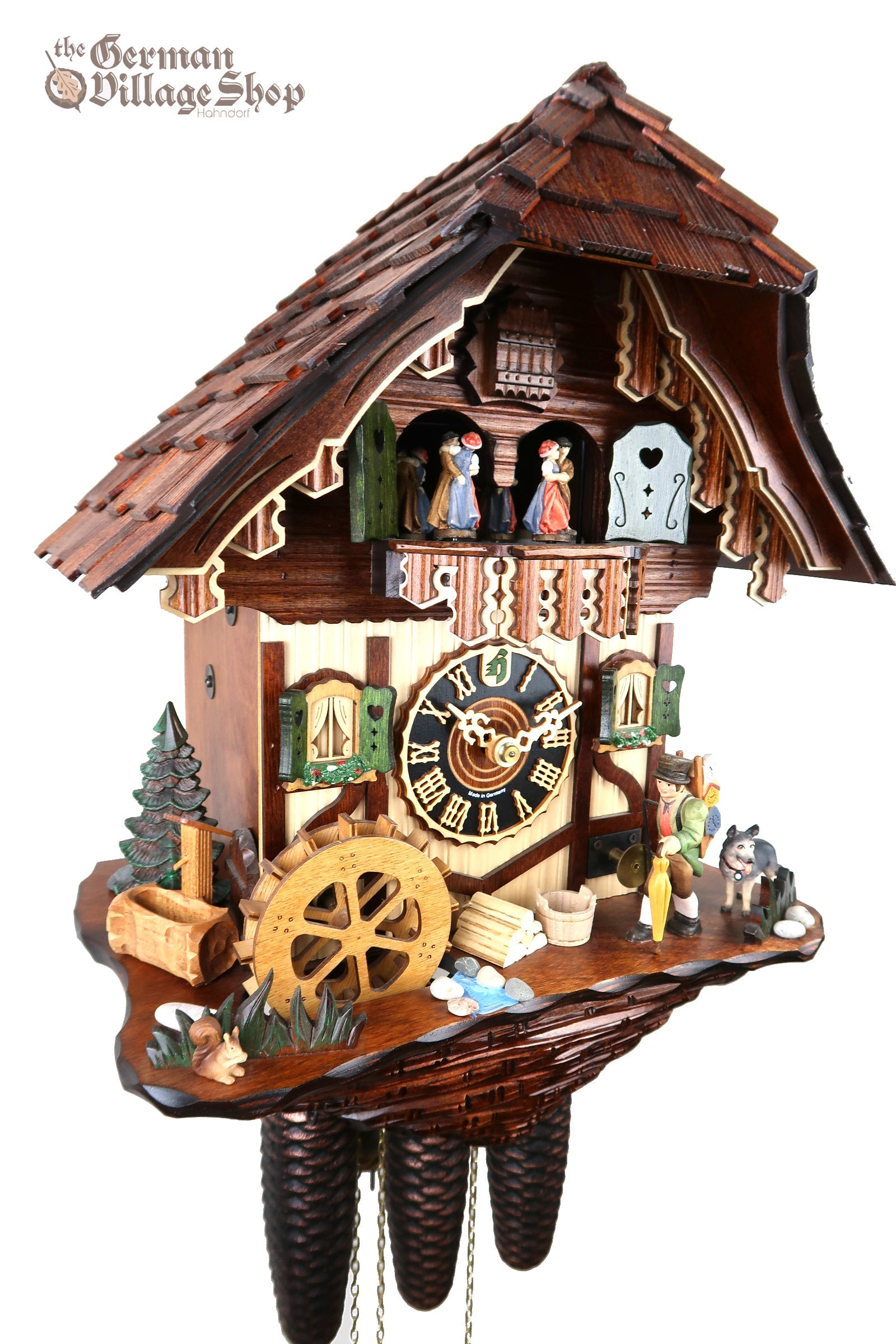 German Cuckoo Clock Black Forest Chalet for sale in Australia