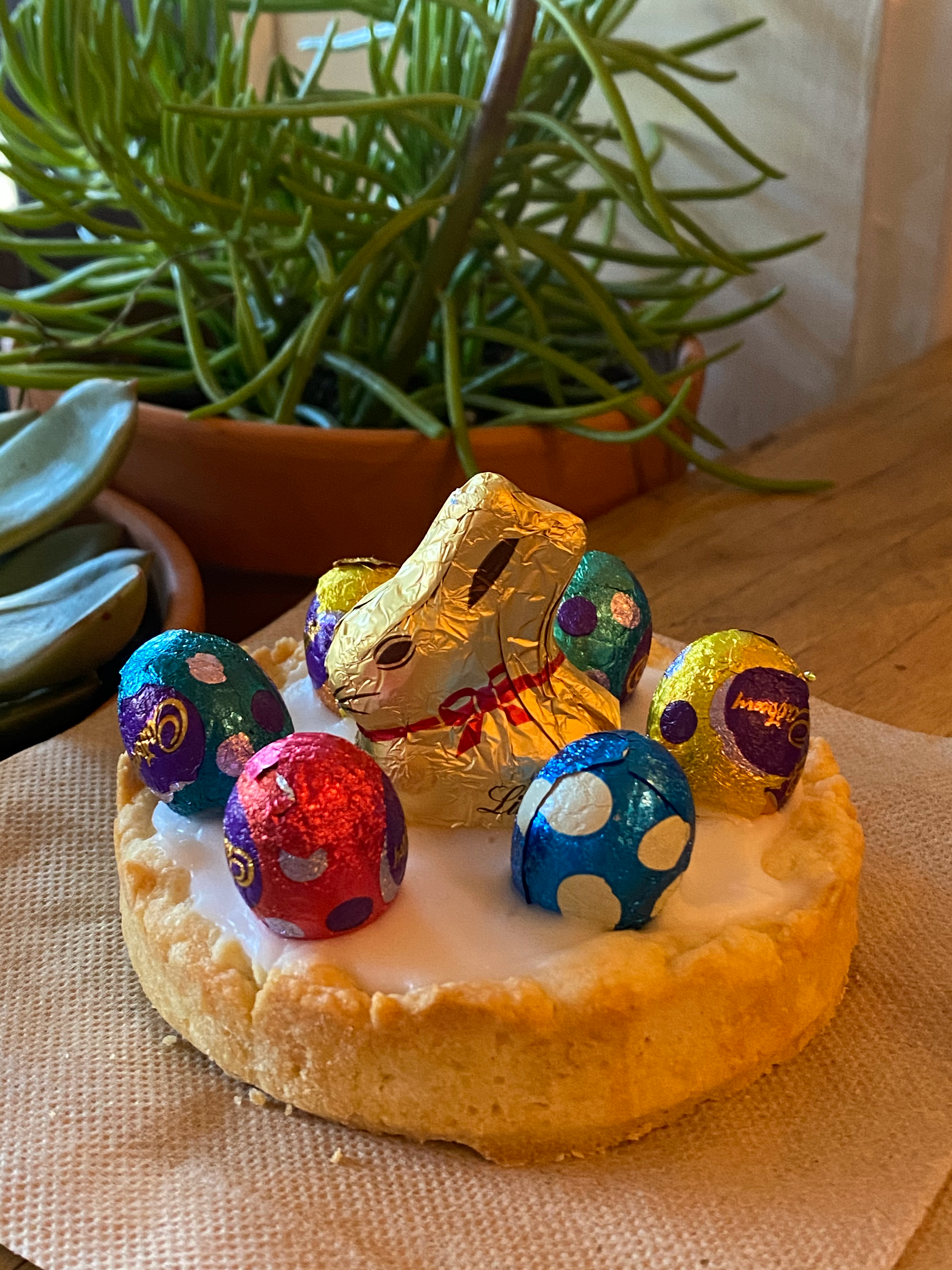 German Easter baking and decorations
