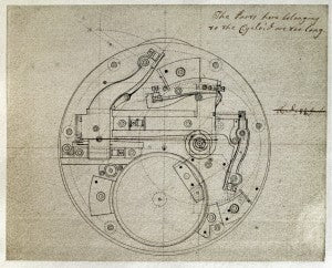 John Harrison manuscripts for his marine chronometer invention