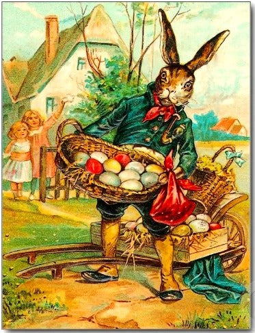 German Easter Bunny traditions