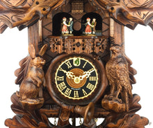 Cuckoo Clock Mechanical 8 Day - Hones traditional with stag