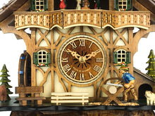 Cuckoo Clock Mechanical 8 Day - Chalet & sawyer man