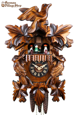 German Cuckoo Clock 1 day mechanical traditional cuckoo birds with music