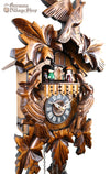 German Cuckoo Clock battery operated traditional Cuckoo birds with music