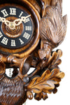 German Cuckoo Clock 1 day mechanical After the hunt scene