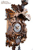 German Cuckoo Clock battery operated before the hunt scene