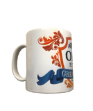 Coffee Mug - Opa Is The Greatest red/blue