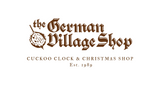 The German Village Shop Clock and Christmas Shop