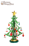 Christmas Tree - Green Glitter 25cm