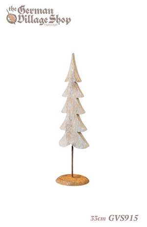 German wooden Christmas decorations, wooden Christmas tree, minimalist Christmas decoration