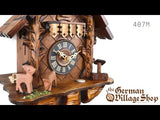 Video of 1 day mechanical chalet cuckoo clock with Coo Coo call