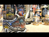 This video features: German beer stein with genuine piece of the Berlin Wall on the pewter lid. featured in The German Village Shop Hahndorf South Australia