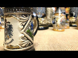 This video features a traditional German beer stein with gold trim and German eagle featured at The German village shop SA