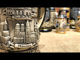 This video features a Traditional German beer stein with rustic finish and Deutschland cities. featured in The German Village Shop Hahndorf South Australia