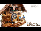 Video of battery operated cuckoo clock with Coo Coo call with music