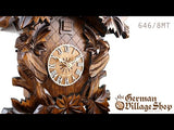 Video of 8 day mechanical chalet cuckoo clock with Coo Coo call