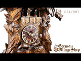 Cuckoo Clock Mechanical 8 Day - Musical with cuckoo birds