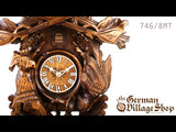 Video of 8 day mechanical 476/8MT cuckoo clock with Coo Coo call