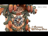 Video of 883/4BU Hones 8 day mechanical cuckoo clock with Coo Coo call