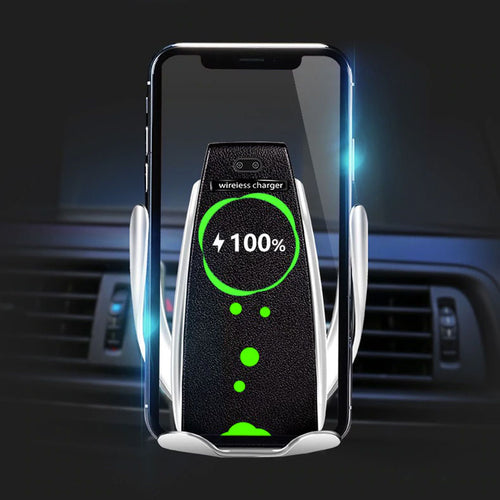 Auto Clamping Wireless Car Charger