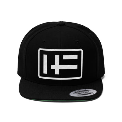 HF embroidered snapback