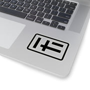 HF logo sticker [black]