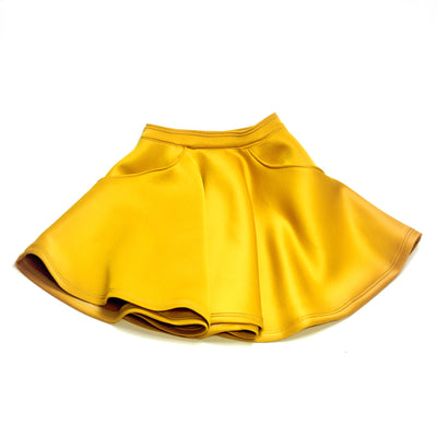 DAYLIGHT neoprene circle miniskirt