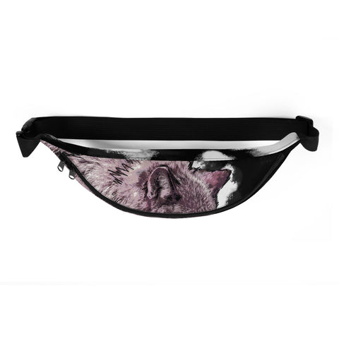 LONE WOLF fanny pack (BLACK)