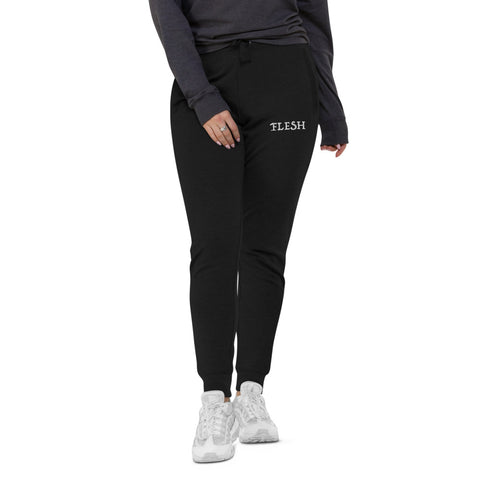 FLESH slim fit embroidered sweats